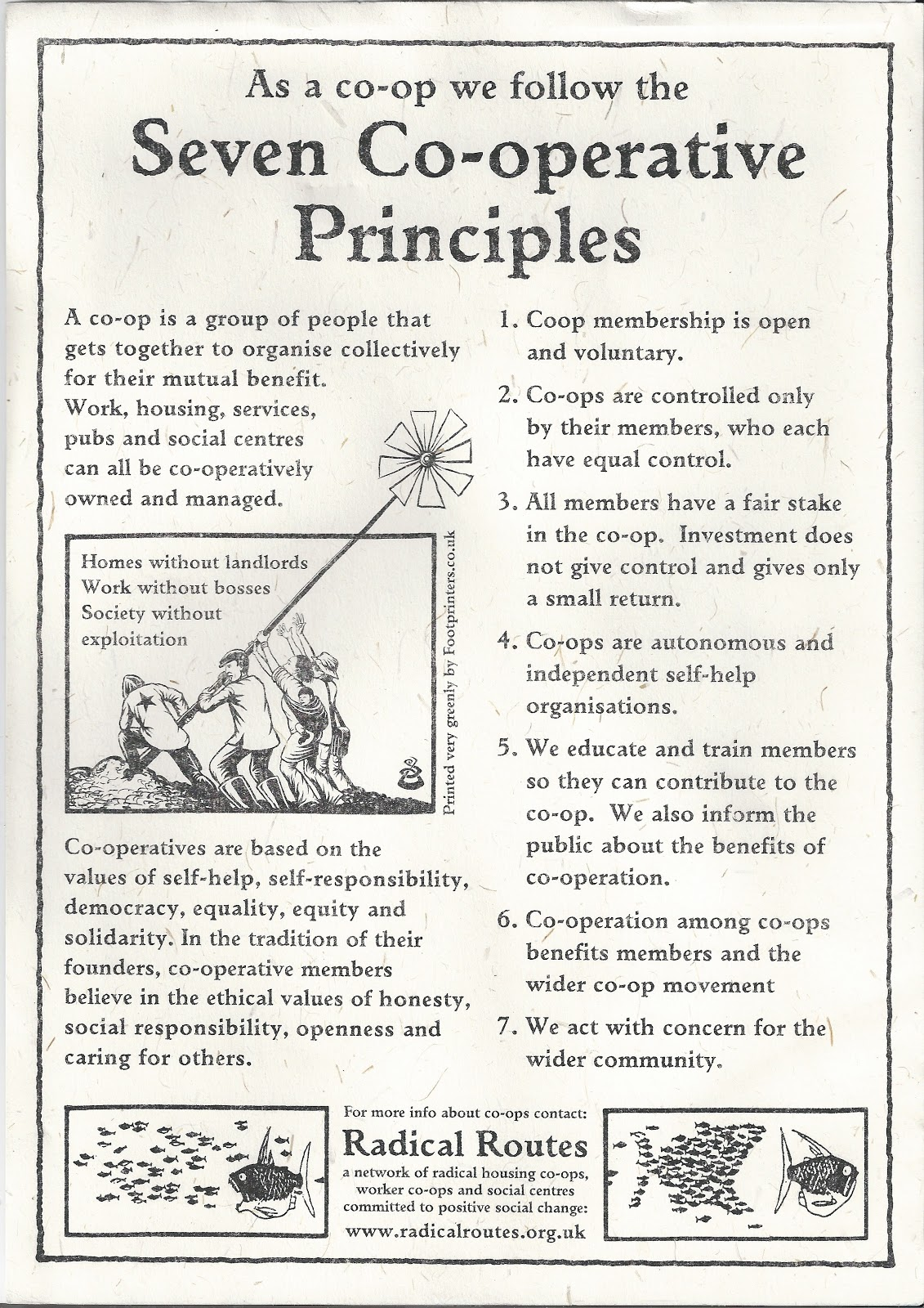 Co-operative principles